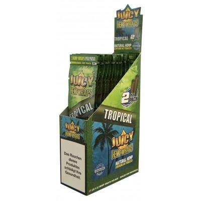 Juicy hemp wraps tropical