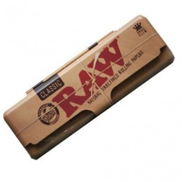 Raw metal paper case king size