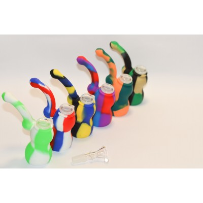 Silicone pipe bubbler/bowl 1