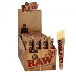 Raw pre-rolled cones 3pk king size