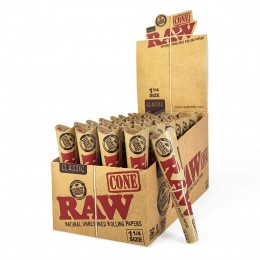 Raw pre-rolled cones 6pk 1¼