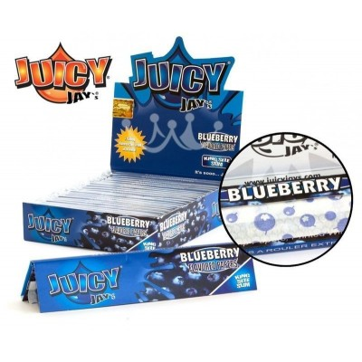Juicy jay's blueberry king size slim