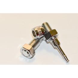 Metal pipe bolt