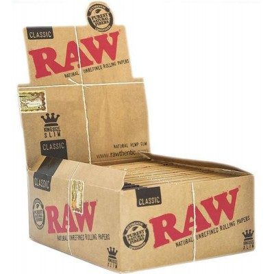 Raw classic papers king size slim