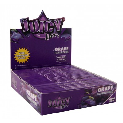 Juicy jay's grape king size slim