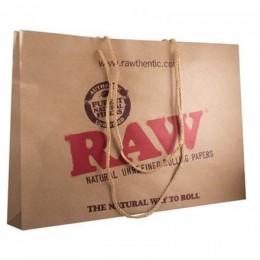 Raw paper bag - large