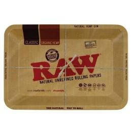 Raw metal rolling tray mini