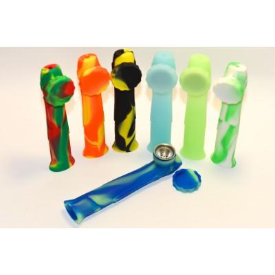 Silicone pipe classic big colour mix
