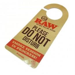 Raw sign do not disturb