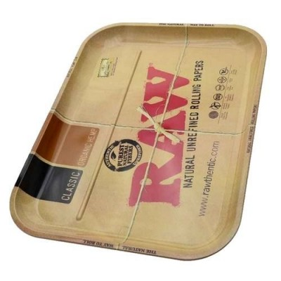 Raw metal rolling tray xxl 1