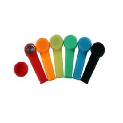 Silicone pipe classic colour glow