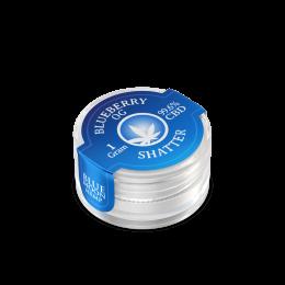 CBD Wax Shatter 1000mg (Blueberry OG)