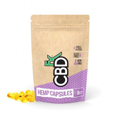 CBD Gel Capsules 200mg (8шт)