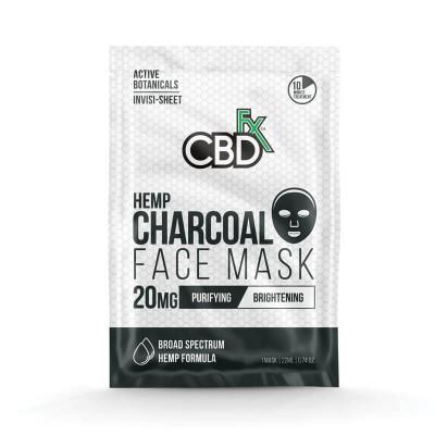 CBD Charcoal Face Mask (Маска для лица с Углем)