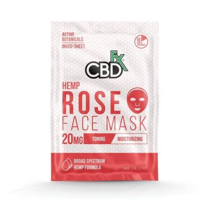 CBD Face Mask – Rose (Маска для лица с розой)
