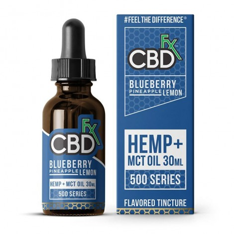 Blueberry Pineapple Lemon CBD Tincture Oil (30ml)