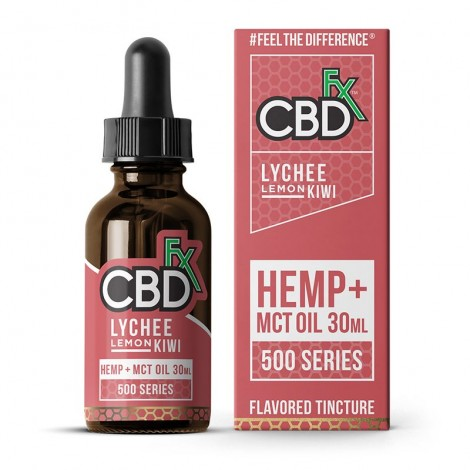 Lychee Lemon Kiwi CBD Tincture Oil 500mg (30ml)