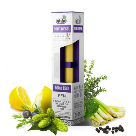 Sour Diesel CBD Terpenes Vape Pen – 50mg
