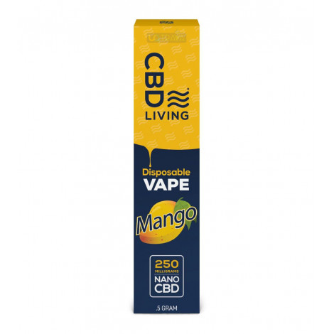 CBD Living Vape Pen Mango – 250mg