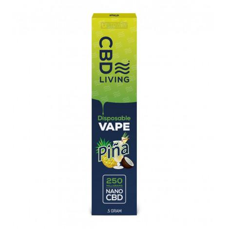 CBD Living Vape Pen Pina Colada – 250mg