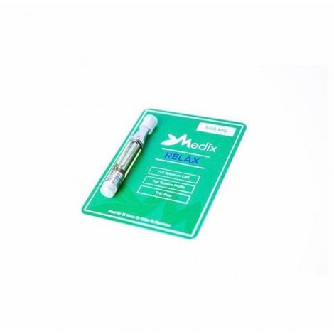 CBD Vape Cartridge Medix (Картридж 500mg) Relax